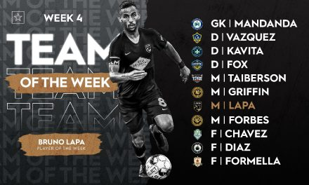 PLAYER OF THE WEEK: Birmingham Legion FC's Bruno Lapa earns USL Championship honors