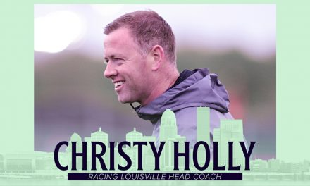 MEET THE NEW BOSS: Holly, formerly of Sky Blue, named Racing Louisville coach