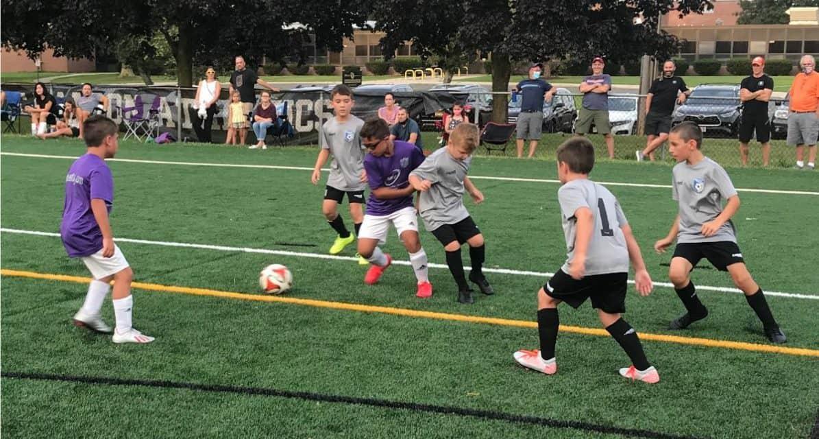 BEGINNERS SKILLS: NY Youth Soccer institutes 4v4 Club Foundation Program
