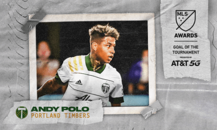 SOME MORE SPOILS: MLS is Back honors Timbers' Polo, Clark