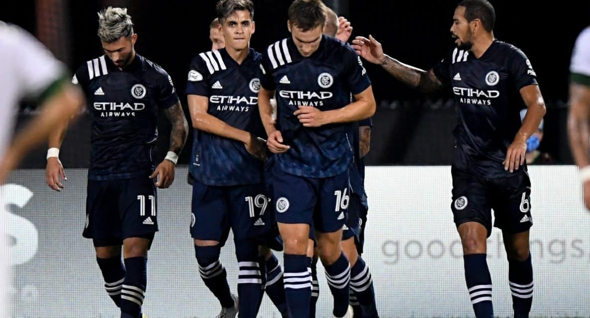 CHOPPED DOWN BY THE TIMBERS: NYCFC eliminated from MLS Is Back Tournament