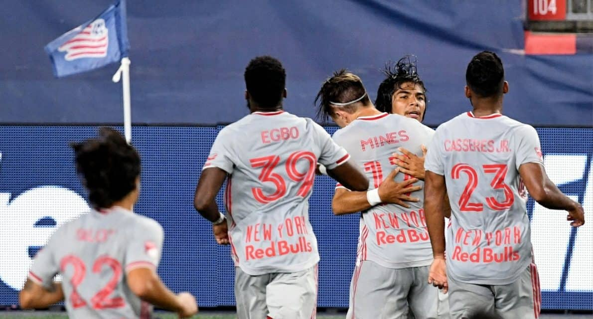 FIT TO BE TIED: Red Bulls can't hold lead, settle for draw at NE