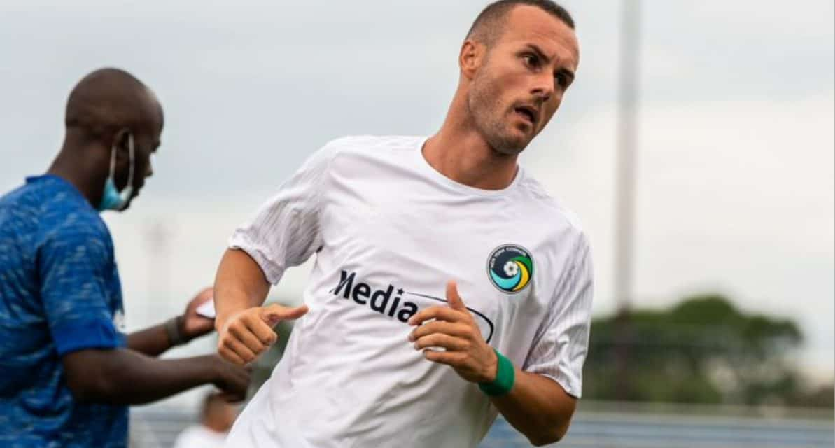 FIT TO BE TIED, YET AGAIN: Cosmos concede yet another late goal in a 1-1 draw in fall season opener