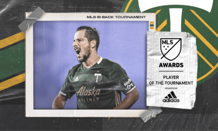 BLANCO'S REWARD: Timbers midfielder named MLS is Back player of tournament