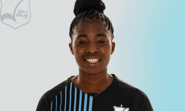 MULTI-YEAR DEAL: Sky Blue FC signs Cudjoe