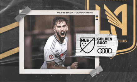 GETTING THE GOLDEN BOOT: LAFC's Rossi MLS Is Back's top goal-scorer