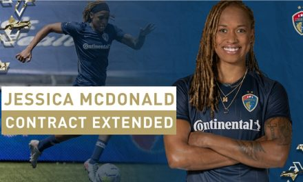 CONTRACT EXTENSION: McDonald to play for Courage in 2021