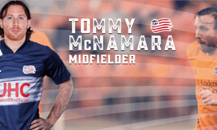 ON THE MOVE AGAIN: Revs trade for ex-NYCFC mid McNamara