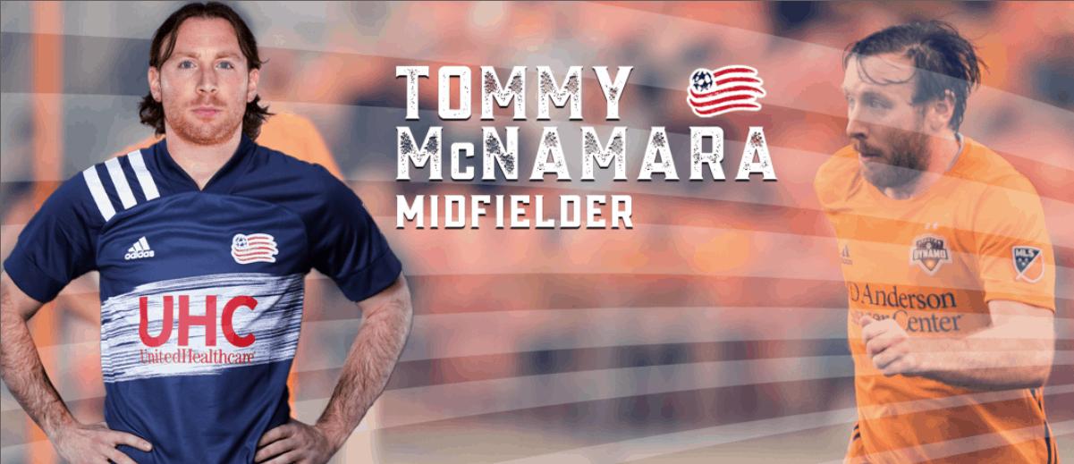 ON THE MOVE AGAIN: Revs trade for ex-NYCFC mid McNamara
