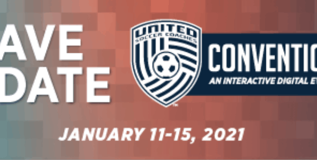 SAVE THE DATE: United Soccer Coaches digital convention set for Jan. 11-15
