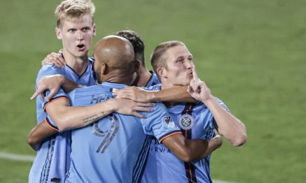 SILENT NIGHT: Ring quiets NYCFC's critics with his goal and team performance
