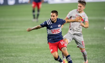 SOME YOUNG IDEAS: Red Bulls use several younger players in their tie at NE