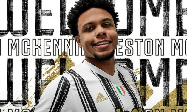 NEW CHALLENGE: USMNT's McKennie joins Juventus on loan from Schalke 04