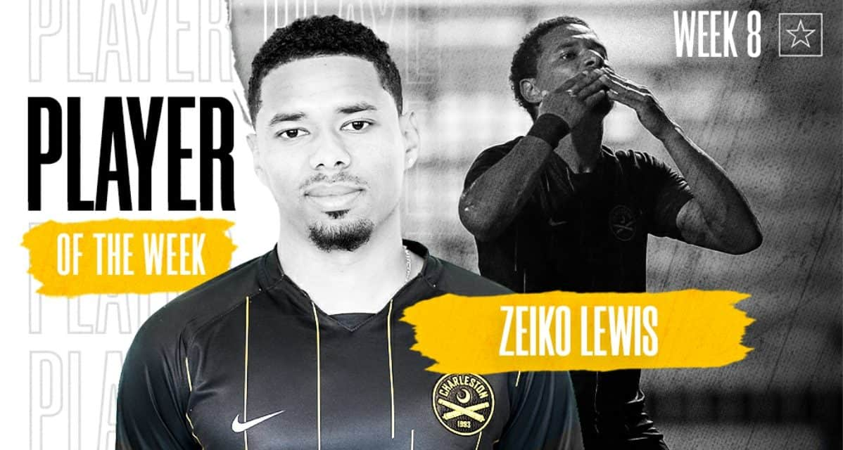 PLAYER OF THE WEEK: Ex-Red Bulls draftee Lewis gets Championship top honors