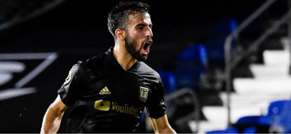 TOP HONORS: LAFC's Rossi named MLS player of the week