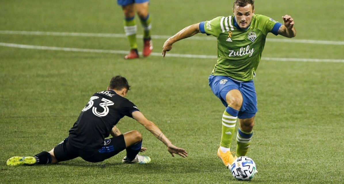 ONE MAN WRECKING CREW: Sounders' Morris MLS player of the week