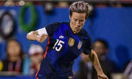 AN INFLUENCER: Time names Rapinoe as one of the 100 most influential people