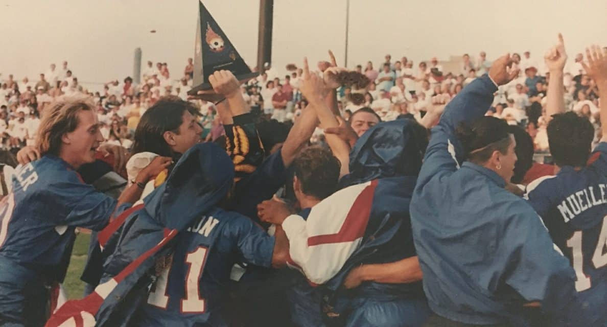 LONG ISLAND'S OWN: 25 years ago today, Rough Riders ruled USISL on a dramatic, late goal by Savarese