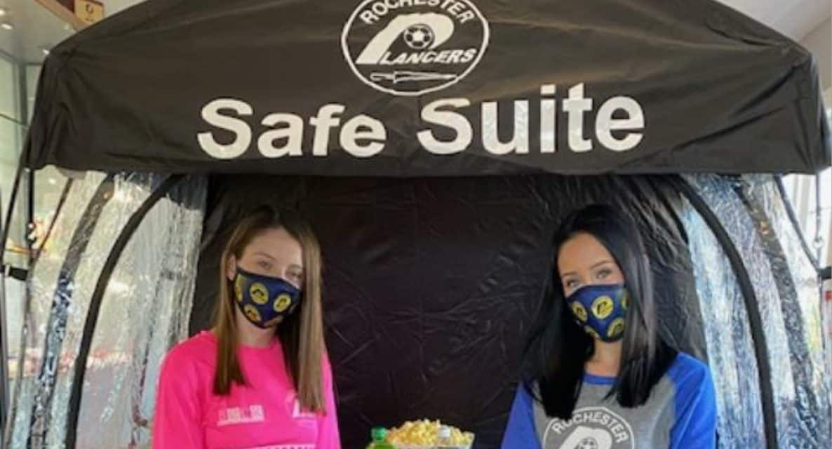 KEEPING THE FANS SAFE: Lancers introduce Safe Suite for their indoor season