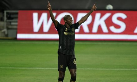HE STILL HAS IT: BWP scores for the 4th time in 6 games for LAFC