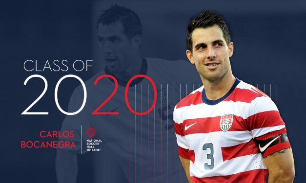 LONE INDUCTEE: Bocanegra elected to National Soccer Hall of Fame