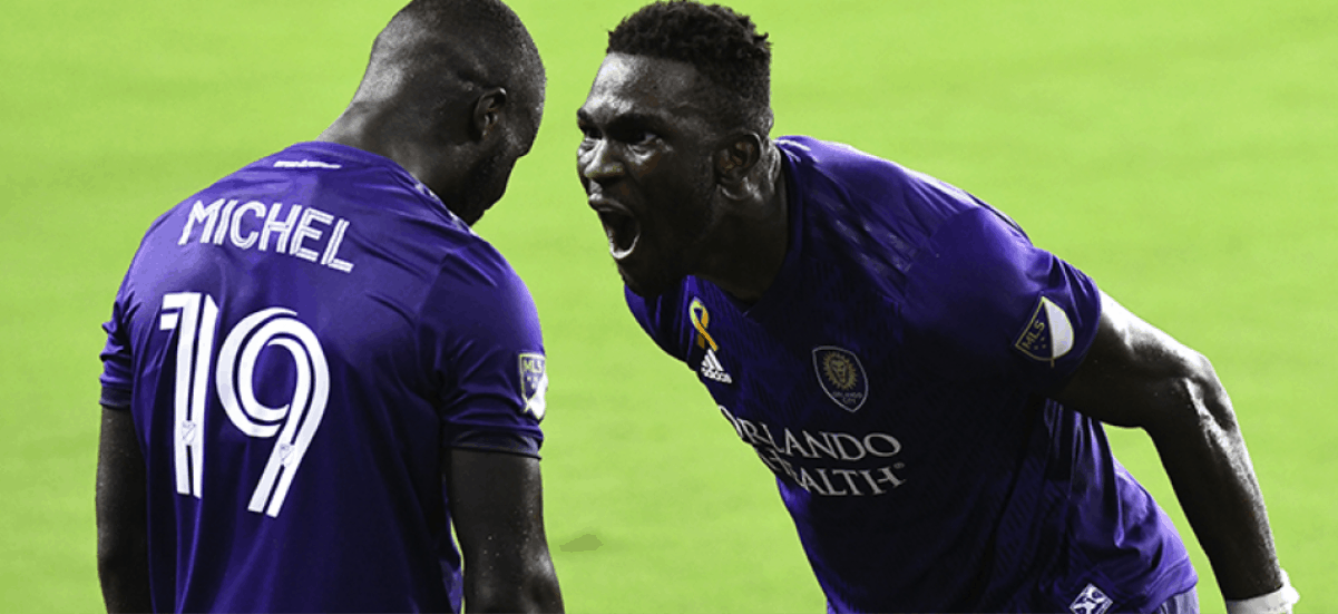 AN AUGUST AUGUST: Orlando City's Dike voted MLS player of the month