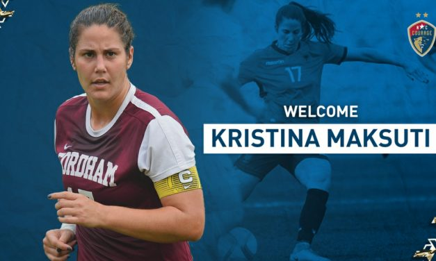 SHE'S RAM TOUGH: Ex-Fordham standout, Albanian international Maksuti signs with Courage