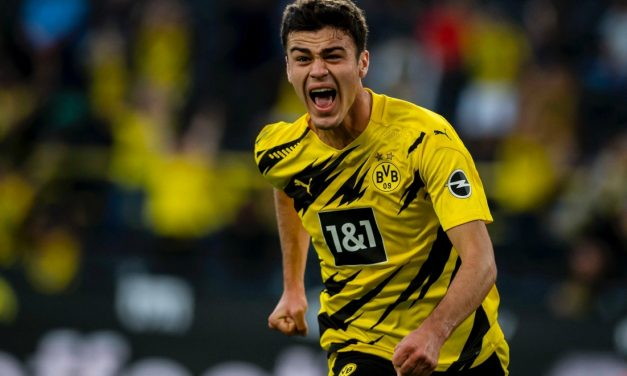WHAT A START: Reyna scores in Dortmund's season opener