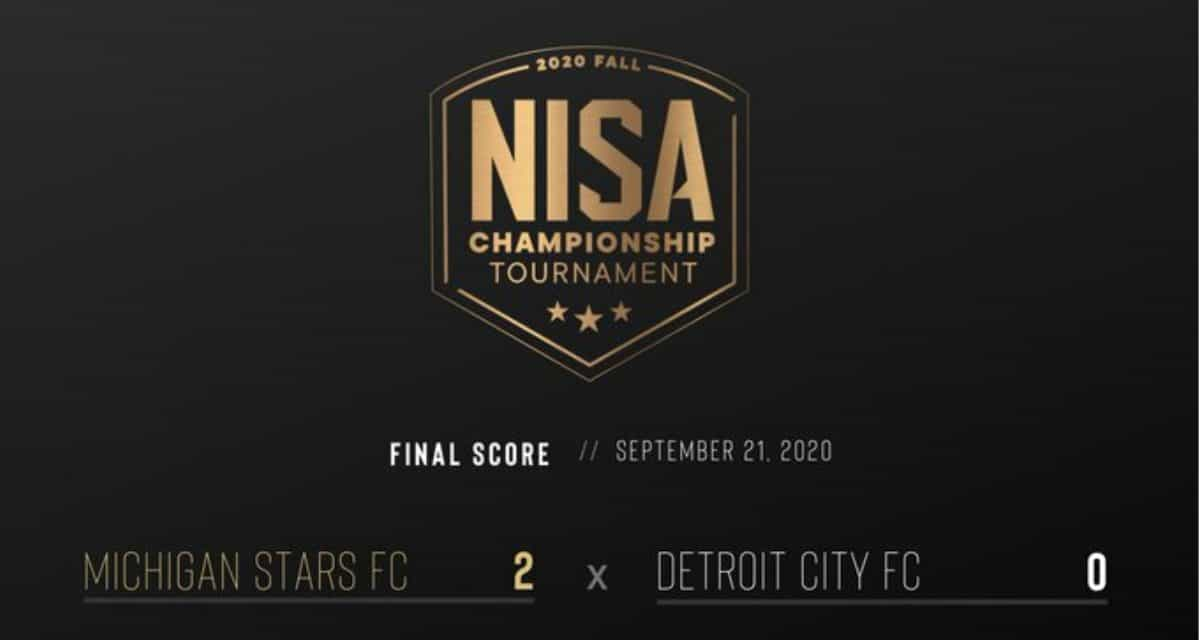 SEEING STARS: Michigan blanks Detroit City FC in NISA fall tournament opener