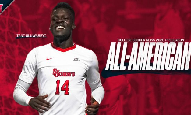 PRESEASON HONORS: St. John's Oluwaseyi named to first team