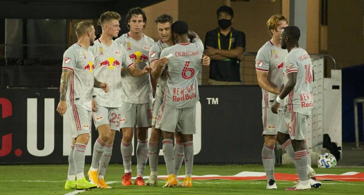 STREAK BREAKERS: Red Bulls bury a few negative numbers with win at United