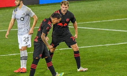 FOUR SCORE AGAIN: Red Bulls fill the net, rout Impact, 4-1