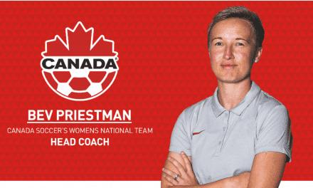 THE NEW BOSS: Priestman named Canada women's head coach