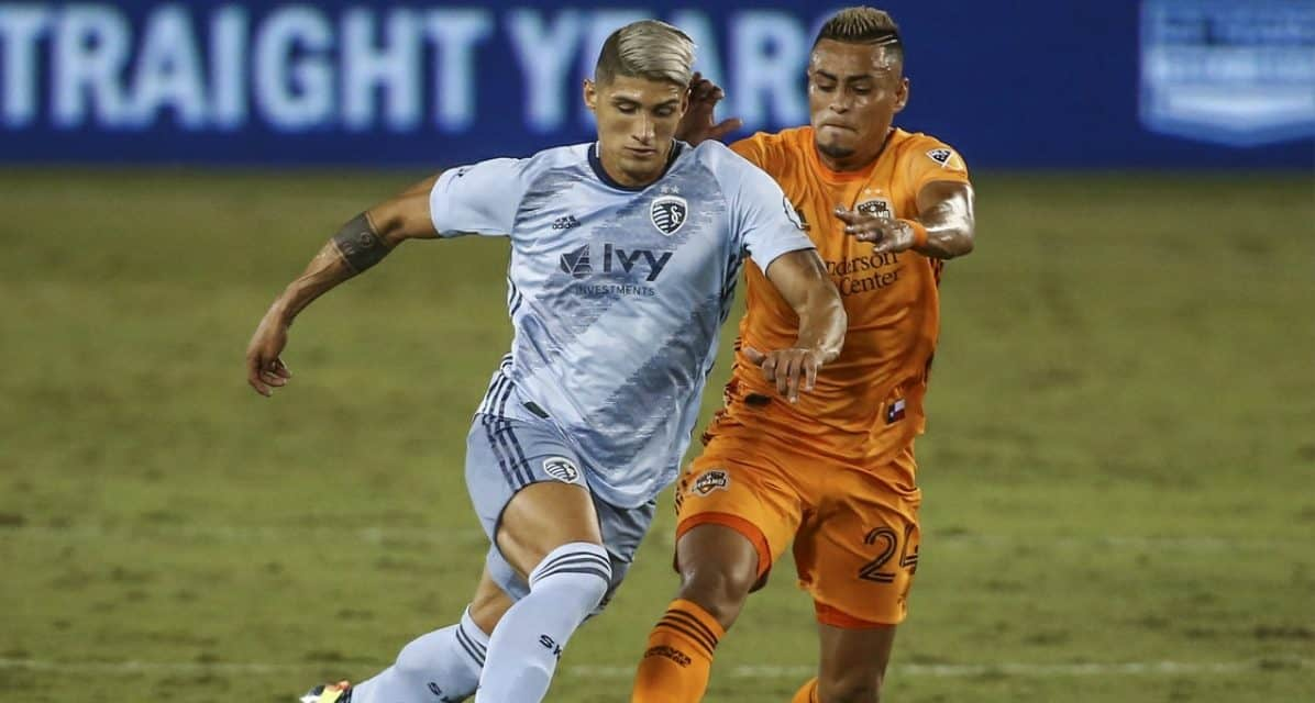 MLS PLAYER OF THE WEEK: Sporting KC's Pulido gets the honor