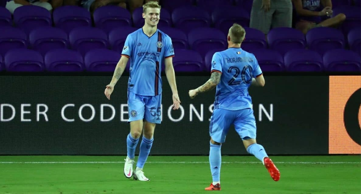 A GOOD TIE: NYCFC rallies for comeback road draw