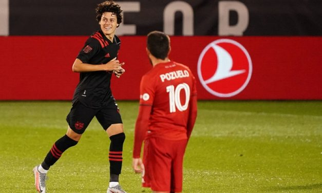 TWO-FOR-TWO: Clark's golazo gives Red Bulls tie with Toronto FC