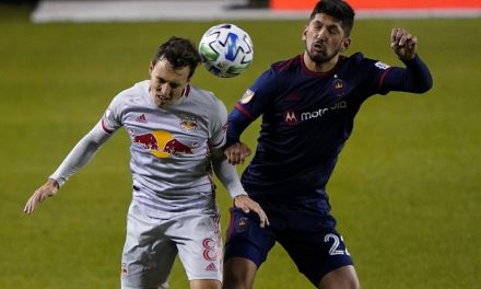 THE EQUALIZER: White connects on stoppage-time tying goal in consecutive weeks in Red Bulls tie