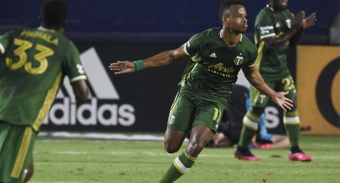 HE'S THE TOPS: Portland's Ebobisse named MLS player of the week