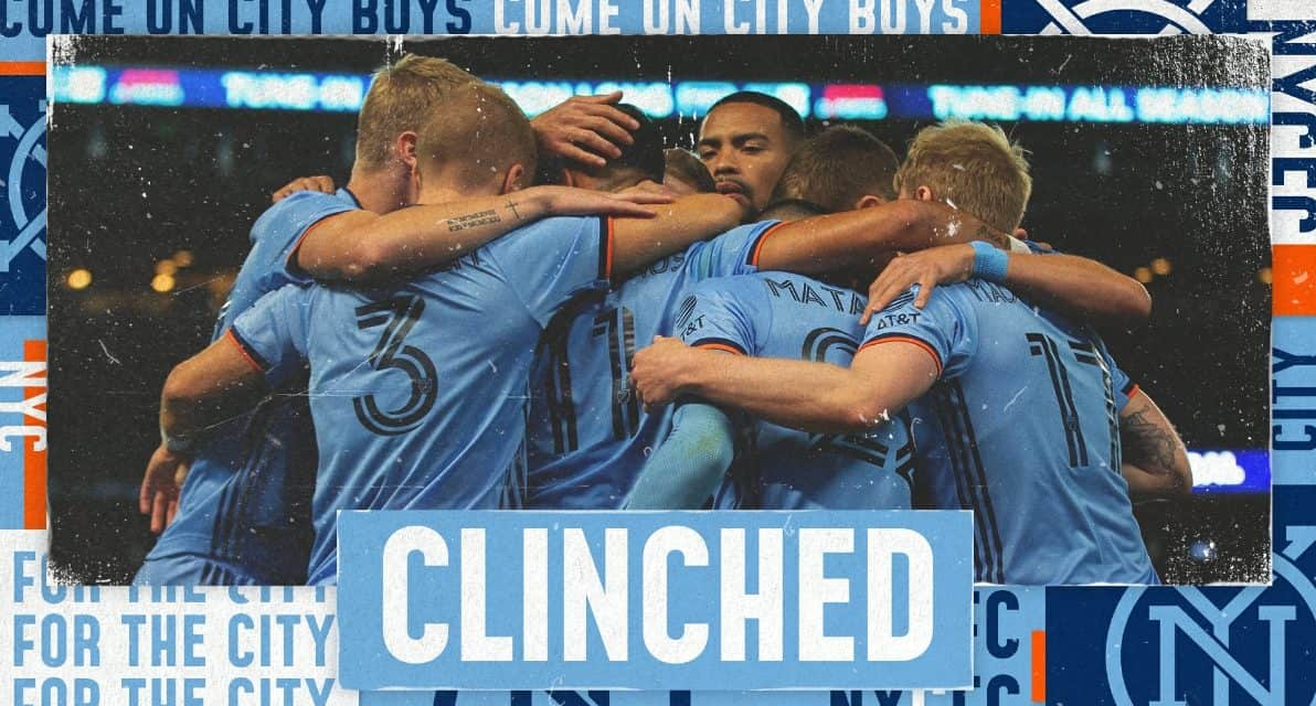 THEY'RE IN: Nashville SC wins as does NYCFC, which clinches a playoff spot without playing