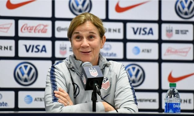 SHE'S ON BOARD: Former USWNT coach Ellis joins Topps board of directors