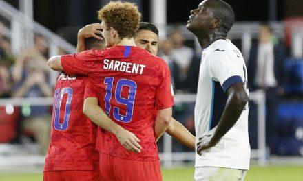 HE SHOOTS, HE SCORES: Watch Sargent score for Werder Bremen
