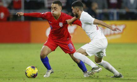 BARCA BOUND: Dest becomes 1st U.S. player to join La Liga power
