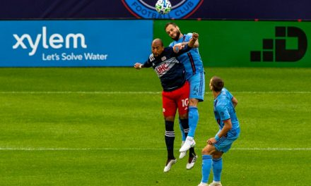 LACKLUSTER: Early goal helps to doom NYCFC in home loss to Revs