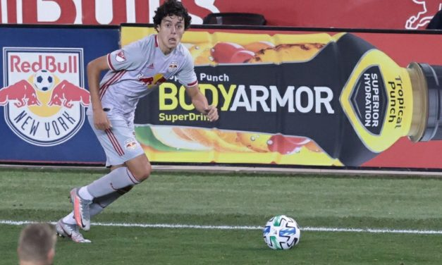 AT DEATH'S DOOR: Red Bulls pull out dramatic draw on White's goal deep into stoppage time