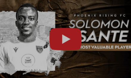 REPEAT PERFORMANCE: Phoenix Rising FC's Asante named USL Championship MVP for 2nd year in a row