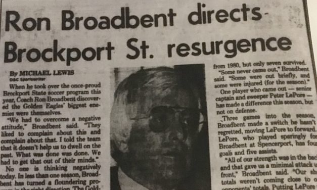 OFFSIDE REMARKS: Remembering Ron Broadbent, teacher and coach