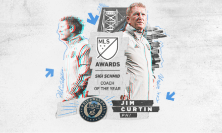 TOP HONORS: Philly's Union Curtin named MLS coach of the year