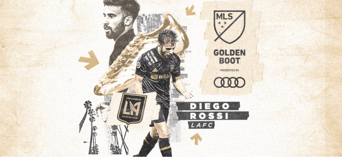 SOME YOUNG IDEAS: LAFC's Rossi (22) named MLS' youngest Golden Boot winner