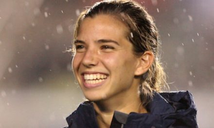 TWICE AS NICE: Watch Tobin Heath bag a brace for Manchester United