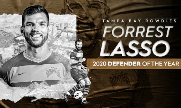 TWO-TIMER: Lasso wins USL Championship defender of the year again